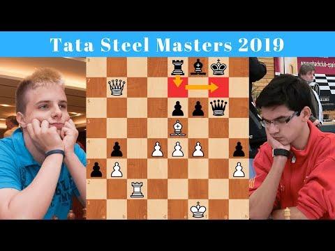 Rapport vs Giri | Tata Steel Masters 2019 | Round 4