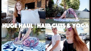 CUTTING MY HAIR OFF!! HUGE KMART AND H&M HAUL