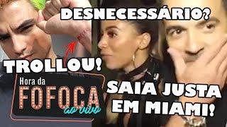 🔥Vídeo: Anitta invade entrevista de Luís Fonsi e causa climão | Felipe Neto explica tatuagem