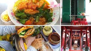 Bánh mì chả nướng cắn ngập răng chỉ 12k - Nét xưa ở tiệm hủ tiếu mì 259 Triệu Quang Phục, quận 5