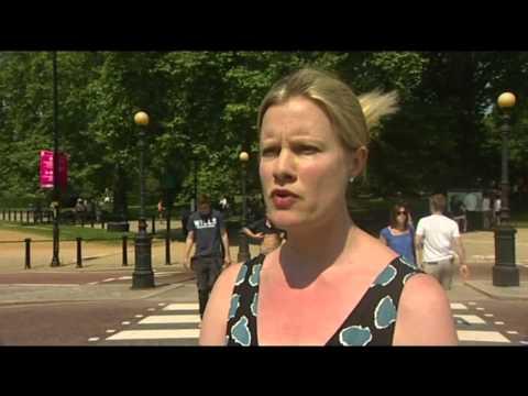 Police Arrest Trafalgar Square Green Custard Protestors Against Olympic Sponsors