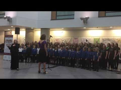 Melody Makers Choir and Horfield Primary School Choir perform 'We Are The Same Inside' live