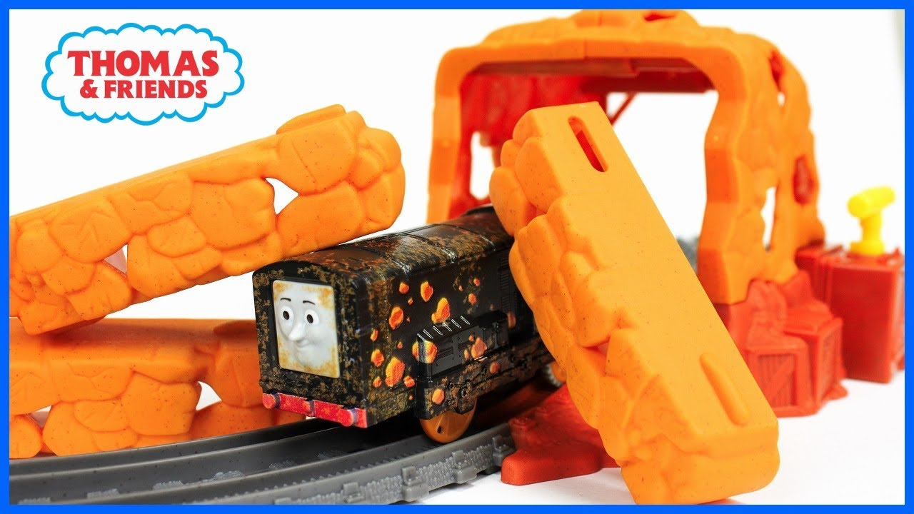 cef714c38c9 THOMAS AND FRIENDS TRACKMASTER TUNNEL BLAST SET Unboxing|Thomas TrackMaster  for Kids