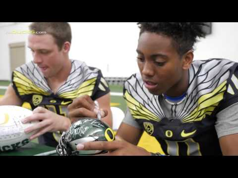 Oregon Football Fan Day 2015