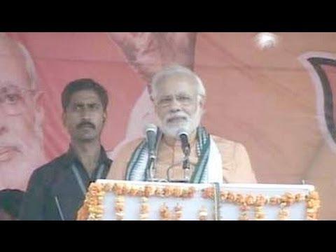 In Meira Kumar's Sasaram, Narendra Modi focuses on lack of development