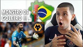 BRASILEIRO REAGINDO A RUI PATRÍCIO   Wolves FC   Best Saves