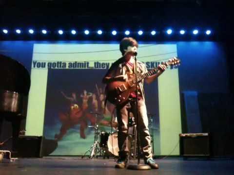 Jacob Kogan plays Weezer