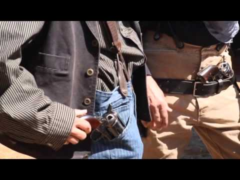 Kyle Travels Back in Time - Wild West Gunfight & Reeanctment
