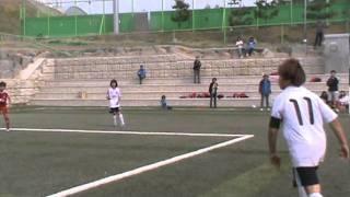 2011 MBC꿈나무축구 키즈리그 U-10 골클럽vs의왕정우(준결승전)후반