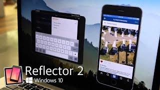 reflector windows 10