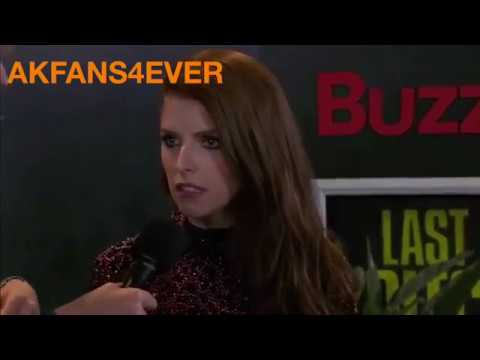 """Anna Kendrick """"Pitch Perfect 3"""" Hollywood Premiere Interview"""