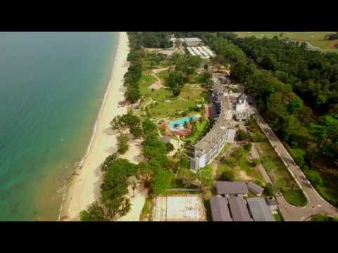 Desaru Tunamaya Resort shot with DJI Phantom 3 Proffesional