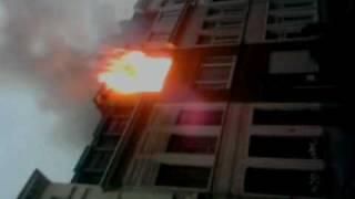 BRAND / FIRE IN  ANTWERPEN 06/10/2009