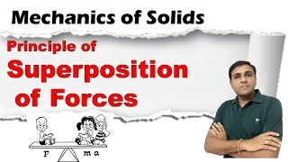 Principle of Superposition of Forces I Mechanics of Solids
