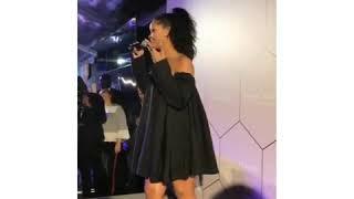 Rihanna: Instagram Story #FentyBeauty #FentyBeautyRiri #Paris #GalaxyCollection(6)