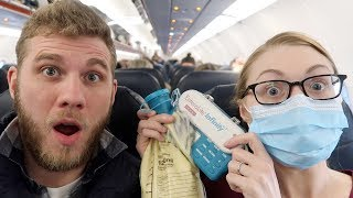 ✈️ I TESTED POSITIVE FOR EXPLOSIVES ???? FLYING WITH A FEEDING TUBE ???? (3.19.18)