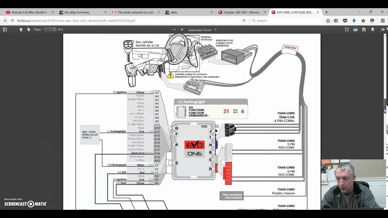 [DIAGRAM_3ER]  How to prep your EVO ONE remote start to install - YouTube | 2013 Altima Remote Start Wiring Diagram |  | YouTube