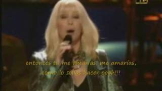 Cher-If i could turn back time-con subtitulos en español
