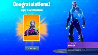 Comment obtenir GALAXY SKIN Pour 'FREE' EN 2 MINUTES! (TRAVAIL) Fortnite UNLOCK Galaxy SANS PHONE GRATUIT