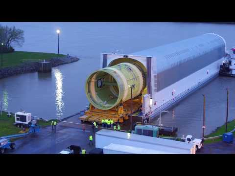 Rocket Science in 60 Seconds: A Ride on NASA's Barge Pegasus