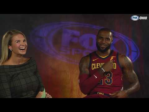 LeBron James 1-on-1 with Allie Clifton ahead of 2017-18 Cavs season