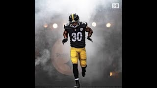 In 2015, james conner was diagnosed with hodgkin lymphoma. now he's a starting running back for the pittsburgh steelers, notching 3 touchdowns his first t...