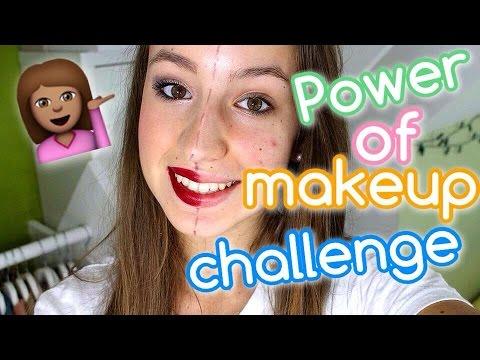 Power of makeup challenge