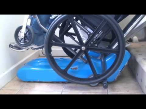 4 Stair Lifts Demos The Ameriglide Stair Climber Youtube