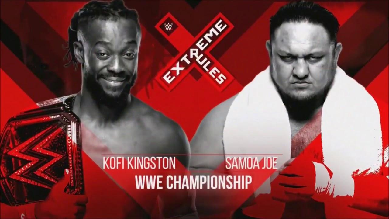 Download Kofi Kingston vs Samoa Joe WWE Championship Match Extreme Rules 2019