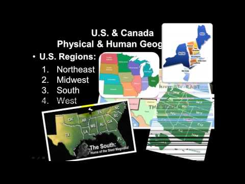 North America Physical Geography Part 1