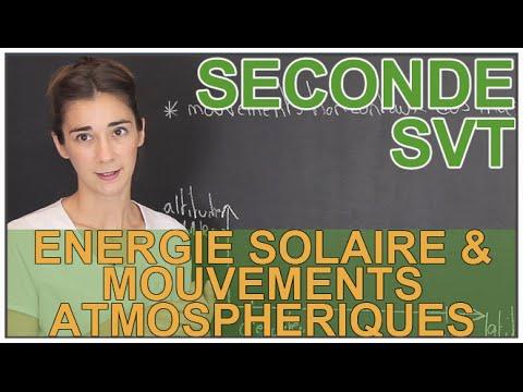 Énergie solaire & mouvements atmosphériques - SVT - Seconde - Les Bons Profs