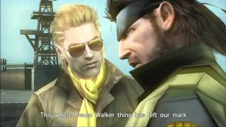 "Metal Gear Solid : Peace Walker "" Big Boss speech (ending) """