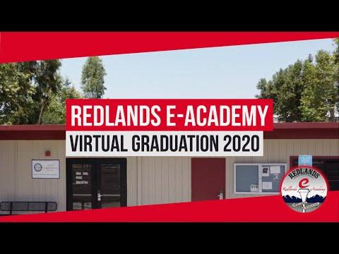 Redlands eAcademy Virtual Graduation 2020