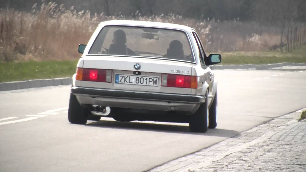 bmw e30 320i sound exhaust 3 youtube. Black Bedroom Furniture Sets. Home Design Ideas
