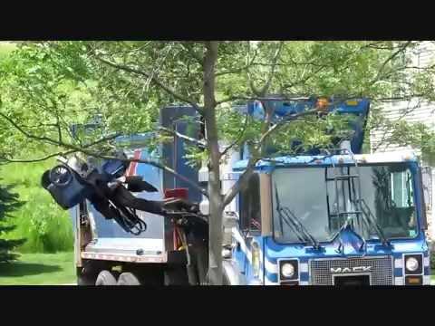 4th channel trailer : minnesota garbage trucks