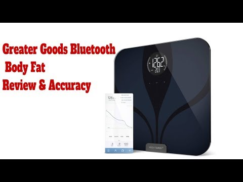 Greater Goods Bluetooth Connected Body Fat Digital Bathroom Smart Scale Review & Accuracy #3