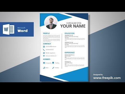 How to make page design in word