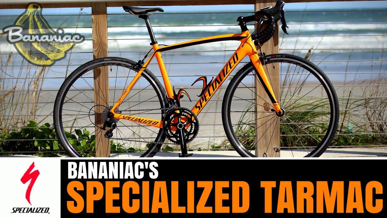 4b4a12a9950 Bananiac's Specialized Tarmac Sport SL4 | Specs & Review - YouTube
