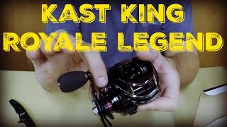 kastKing Royale Legend Reel Unboxing & First Impressions