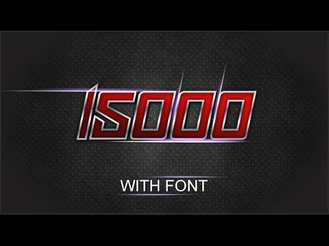 CorelDraw x7 Tutorial - How To Make Lighting Text Effect Frist Time in Coreldraw by As graphics