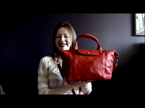 Reveal and First Impression - Longchamp Le Pliage Small Cuir - YouTube ae1448e0fbd65
