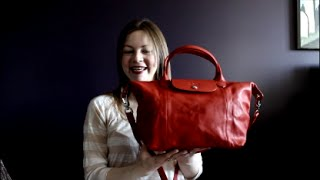 Reveal and First Impression - Longchamp Le Pliage Small Cuir