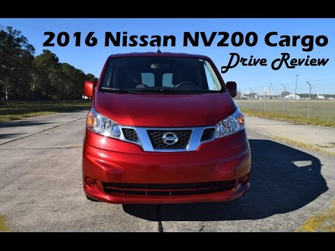 2016 Nissan NV200 Cargo Van - HD Drive Review