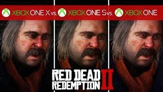 Red Dead Redemption 2 Comparison - Xbox One X vs. Xbox One S vs. Xbox One