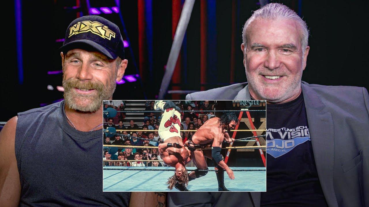 Download Shawn Michaels and Razor Ramon watch their historic WrestleMania X Ladder Match: WWE Playback