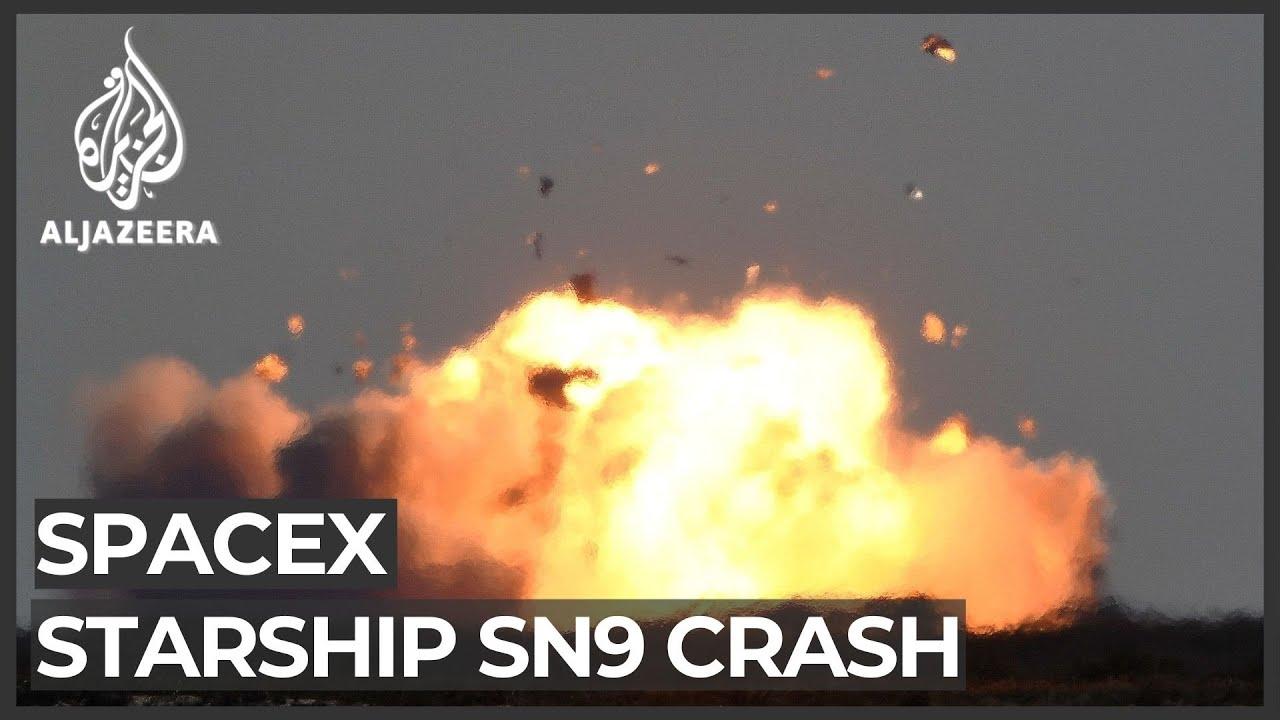 SpaceX's Starship test flight ends in fiery crash, again - Al Jazeera English