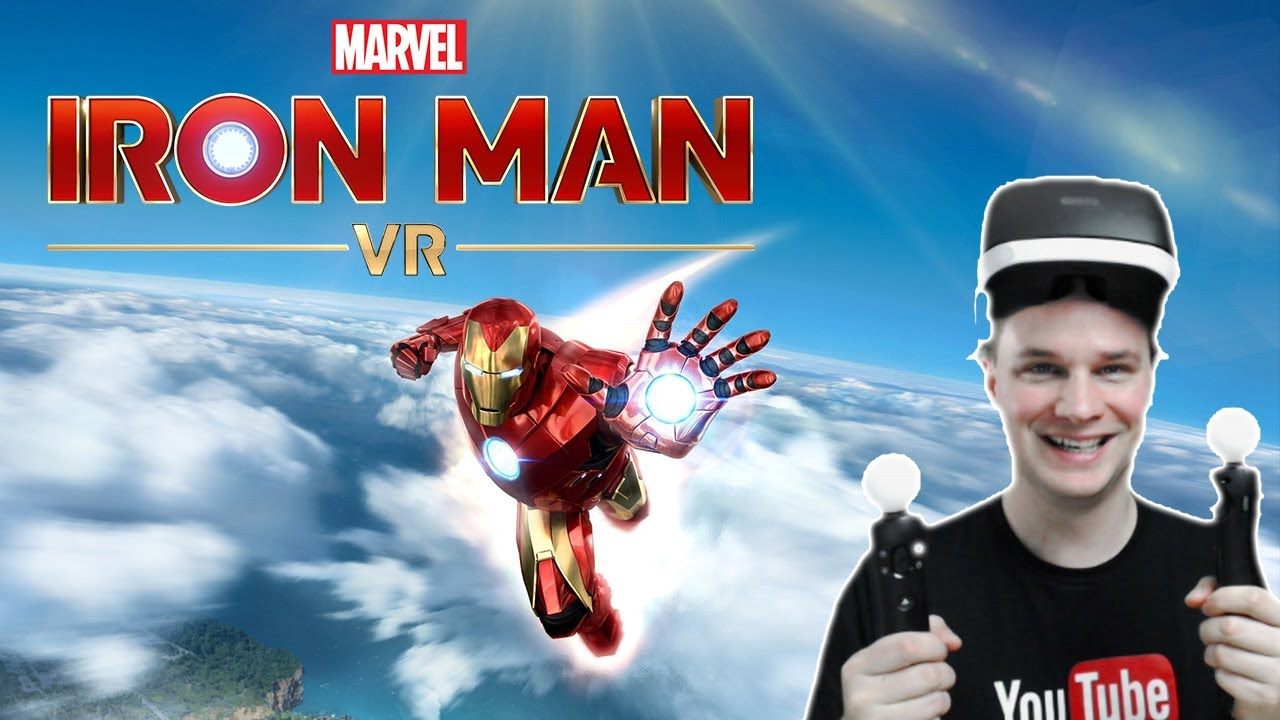 Marvel's Iron Man VR is really AWESOME!! - See my VR Gameplay of the third chapter!!