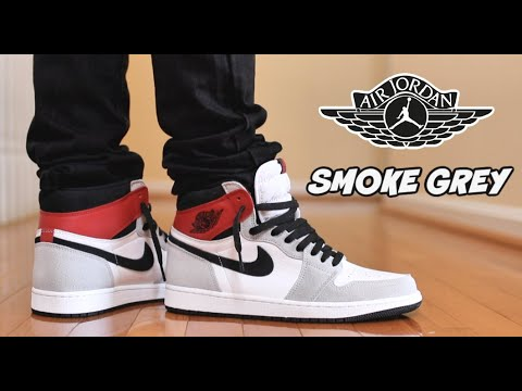 Jordan 1 Smoke Grey Review On Feet Youtube