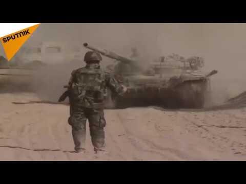 الجيش السوري يتقدم في جوبر وعين ترما شرق دمشق