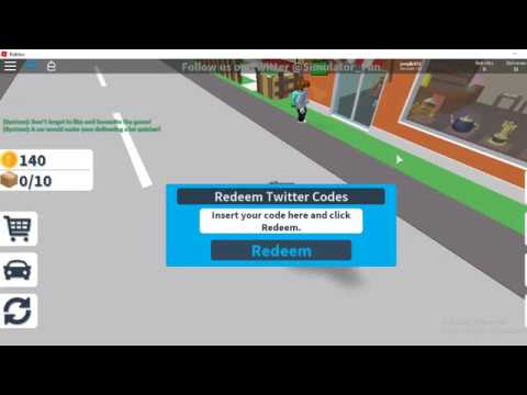 roblox delivery simulator codes